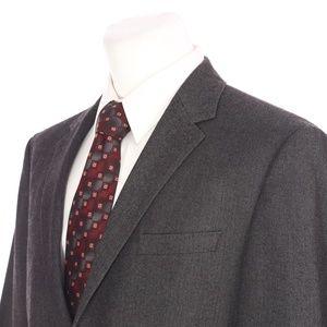 HUGO BOSS The Coast Charcoal Gray Sport Coat